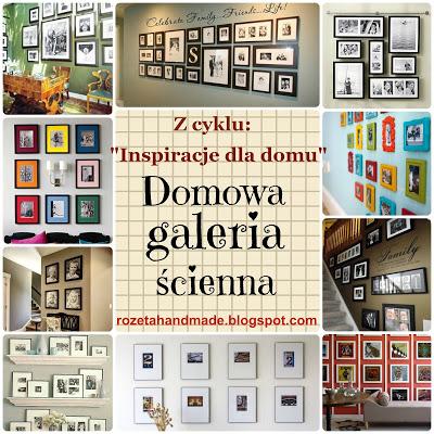 galeria ścienna w domu, home gallery wall