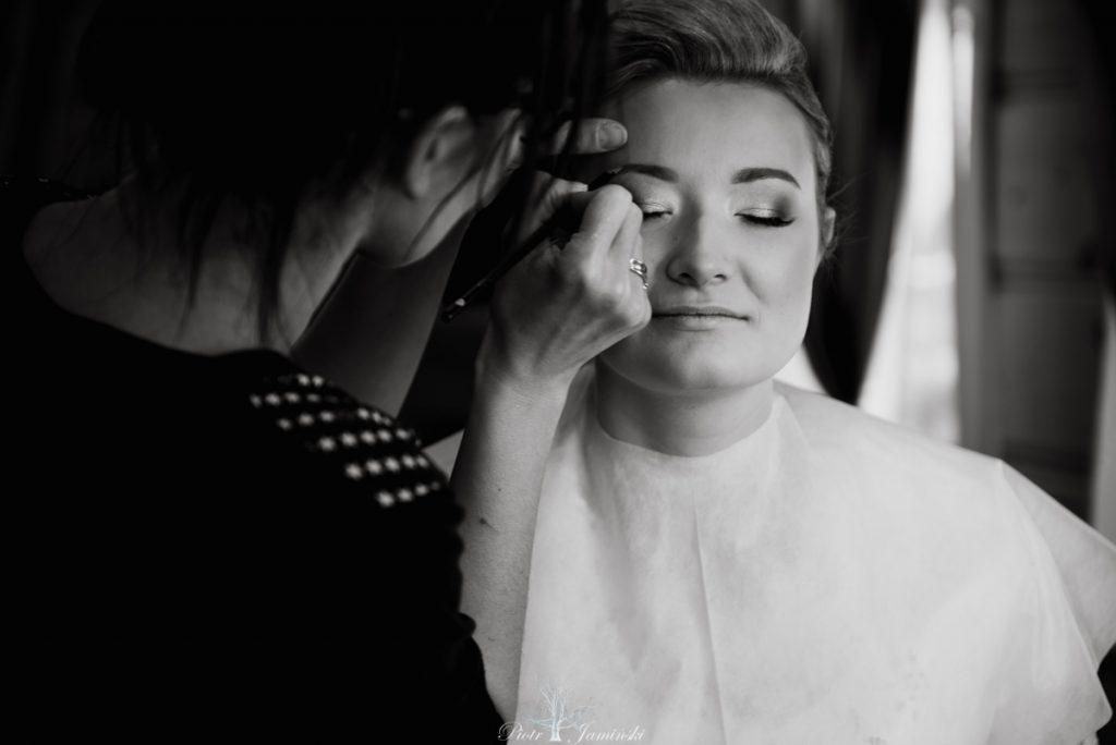 makijaz ślubny